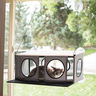 K&H Pet Products EZ Mount Penthouse Kitty Sill