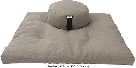 Bean Products- Zafu and Zabuton Meditation Cushion Set