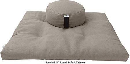 Bean Products- Zafu and Zabuton Meditation Cushion Set