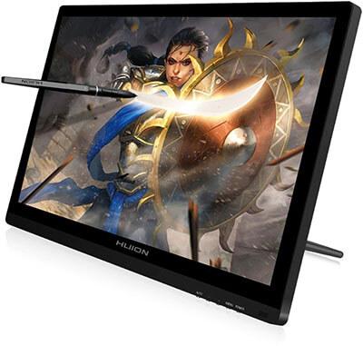 Huion GT-191VE KAMVAS Drawing Tablet with HD Screen 8192 Pressure Sensitivity