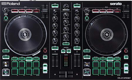Roland 2-channel, 4-deck Serato DJ Controller with Serato DJ Pro, Upgrade