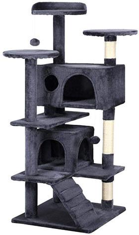 "Yaheetech 51"" Cat Tree Tower Condo Furniture Scratch Post"