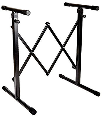 Knox Gear Universal Keyboard Stand Accordion Style