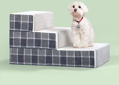 Zinus Cozy Pet Stairs/ Ramp/ Ladder