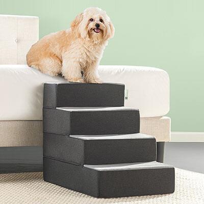 Zinus 2 Step Easy Pet Stairs/ Ramp/ Ladder