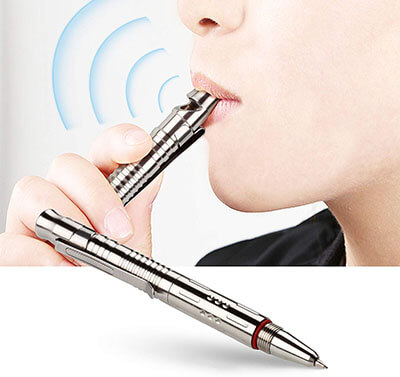 ANO SMOOTHER Stainless Steel Tactical Pen
