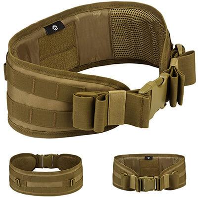 Tactical Battle Belts MOLLE Military Combat Belt