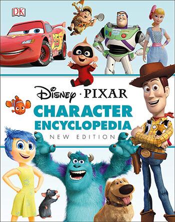 Disney Pixar Character New Edition Encyclopedia