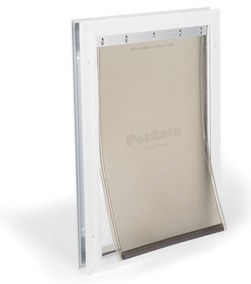 PetSafe Freedom Aluminum Pet Door with Tinted Vinyl Flap