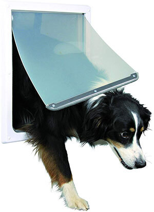 Trixie Pet 2-Way Locking Dog Door
