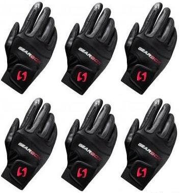 Gearbox Right Small Movement Racquetball Gloves Six Pack