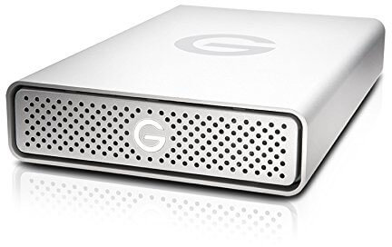 G-Technology 2TB G-DRIVE Desktop External Hard Drive, USB 3.0