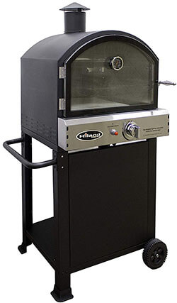 Hiland PSL-SPOC AZ Patio Heaters Pizza Oven, Black
