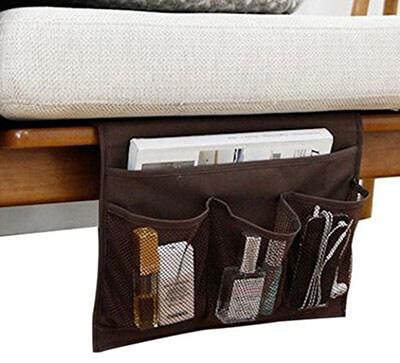 Smilesun Bedside Sofa Table Cabinet Storage Organizer for Tablet Magazine Phone Remotes