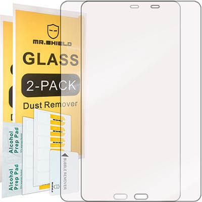 Mr. Shield for Samsung Galaxy Tab-A 10.1 Inch Tempered Glass Screen Protector