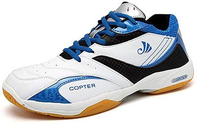 Copter Men's Sneakers Indoor Cross-Trainer Shoes Good for Racquetball, Tennis