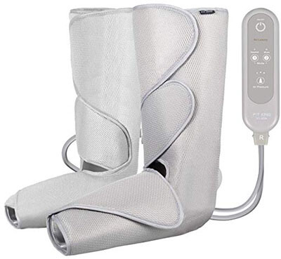 FIT KING Air Compression Massager for Foot and Calf Circulation Massage