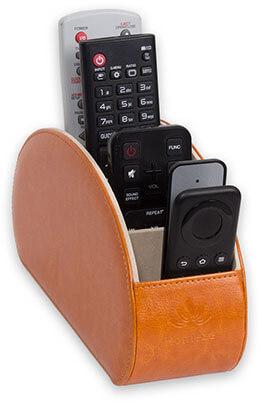 Homeze TV Remote Control Holder Organizer Caddy
