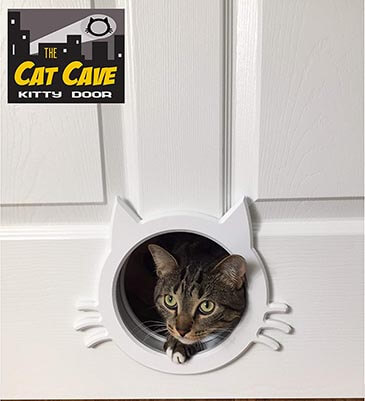 The Cat Cave Interior Cat Door gate way