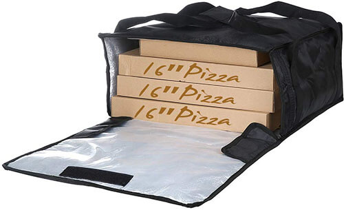 Backerysupply Polyester Insulated Pizza Delivery Bag