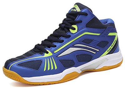Fashiontown Badminton Shoes Men's Non -Slip Indoor Court Tennis Racquetball Sneakers