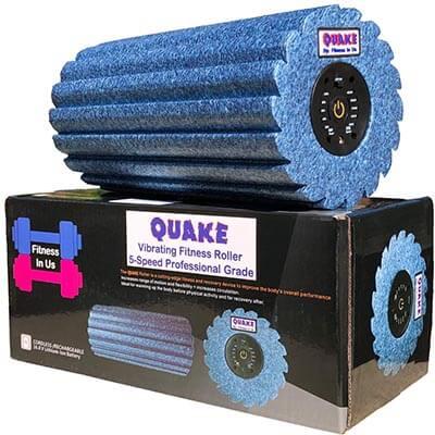 Quake 5 Speed Vibrating Foam Roller