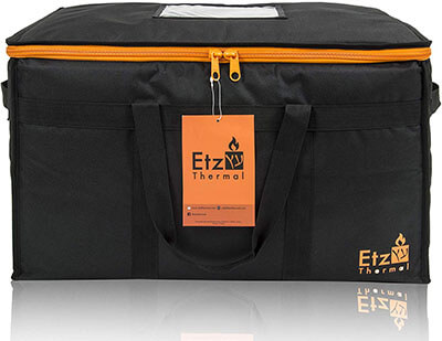 Etz Thermal Heavy Duty Commercial Food Delivery Bag