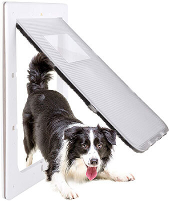 Petouch Pet Door for Dog and Cat, Energy Efficient Pet Door
