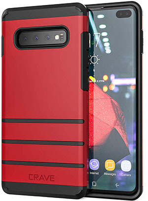 Crave Heavy-Duty Protection Series Case for Samsung Galaxy S10 Plus