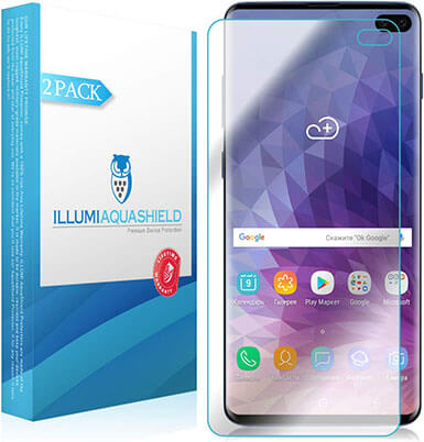 ILLUMISHIELD Samsung Galaxy S10+ Screen Protector