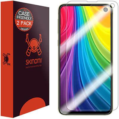 Skinomi TechSkin Full-Coverage Samsung Galaxy S10e Screen Protector