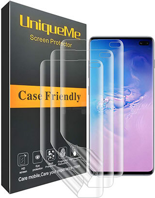 UniqueMe Anti-Bubble Samsung Galaxy S10 Plus Screen Protector