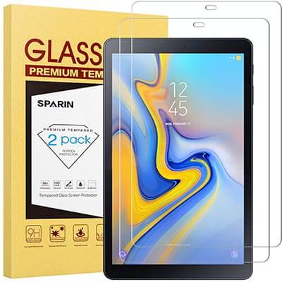 SPARIN Galaxy Tab A 10.5 Screen Protector Tempered Glass
