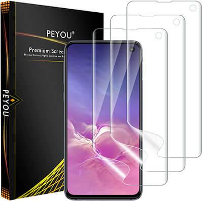 PEYOU Compatible for Samsung Galaxy S10E Screen Protector