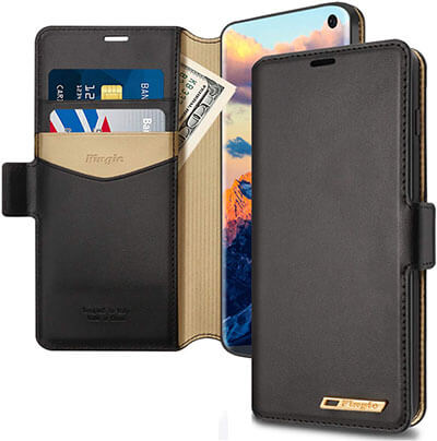 Fingic Samsung S10e Wallet Case