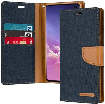 Goospery Galaxy S10 Wallet Case