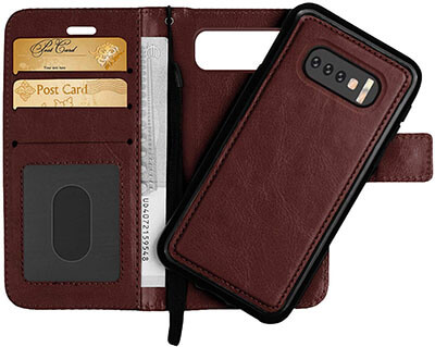 GREATRULY Detachable Wallet Case for Samsung Galaxy S10e