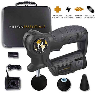 MillonEssentials Muscle Recovery Massage Gun for Personal Body Stimulation Therapy