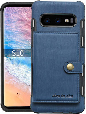 SUTENI Wallet Case Compatible Samsung Galaxy S10e