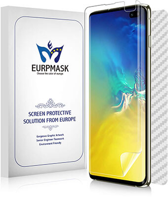 EURPMASK Wet Applied Galaxy S10 Plus Screen Protector