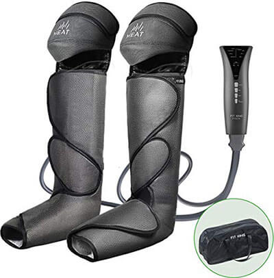 FIT KING Leg & Foot Air-Massager and Knee Warmer