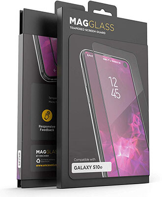 MagGlass Galaxy S10e Full Screen Protector Tempered Glass