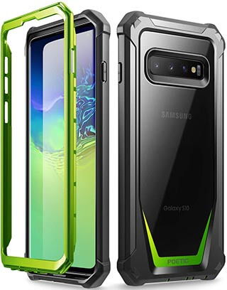 Poetic Galaxy S10 Rugged Clear Case