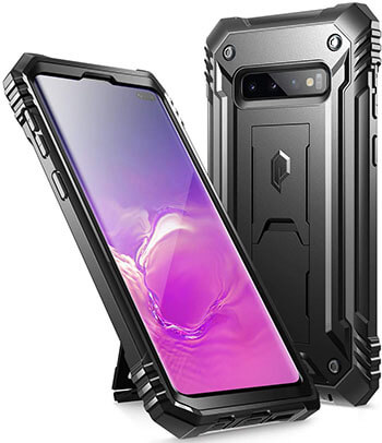 Poetic Military Grade Full Body Cover Case for Galaxy S10+