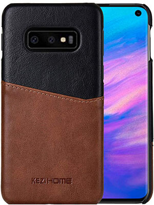 KEZiHOME Galaxy S10e Case, Two-Tone Vintage