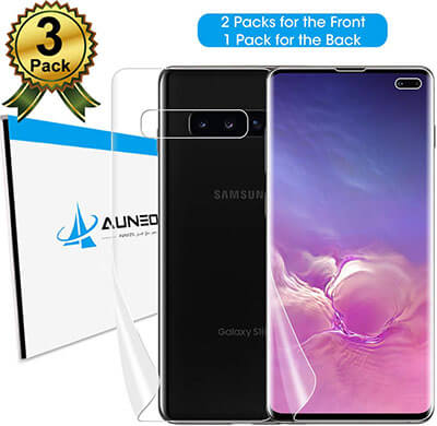 AUNEOS TPU Protector for Samsung S10+ Fingerprint ID Compatible
