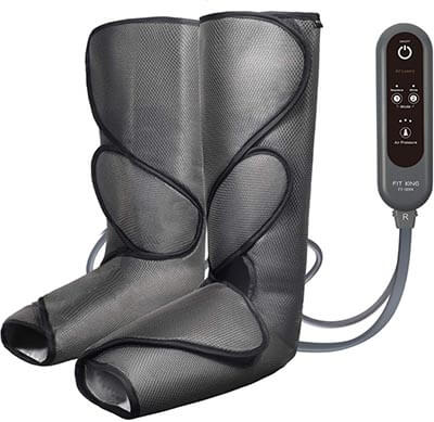 FIT KING Leg Air Massager Circulation and Relaxation - with two extensions