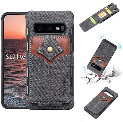 Fusicase Galaxy S10e Card Holder Case