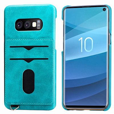 DAMONDY Galaxy S10e Wallet Case