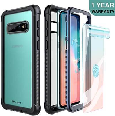 FITFORT Samsung Galaxy S10 Case